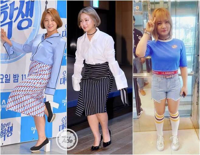 출처: 뉴스에이드 DB, 박나래 인스타그램