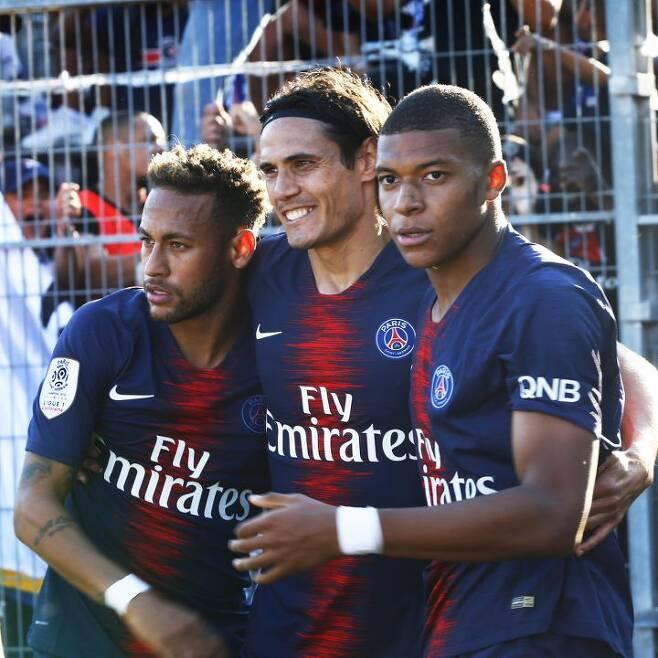 출처: 파리 생제르맹 공식 SNS