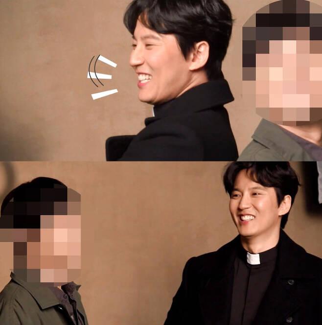 출처: sbs 드라마 '열혈사제' 메이킹