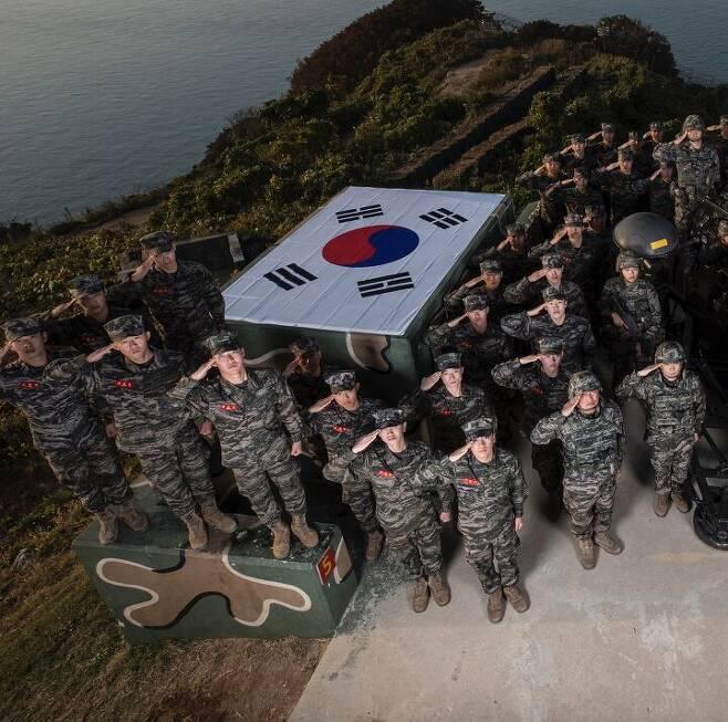 출처: 해병대사령부 제공.