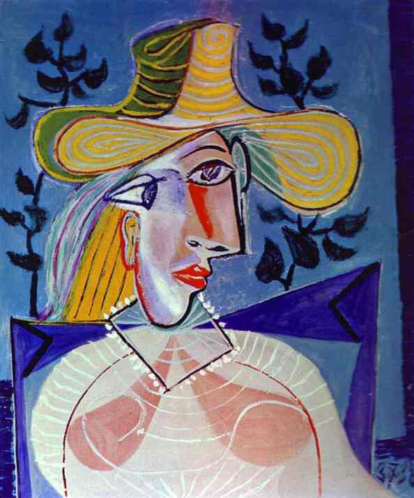 출처: Pablo Picasso, PORTRAIT OF A YOUNG GIRL, 1938.