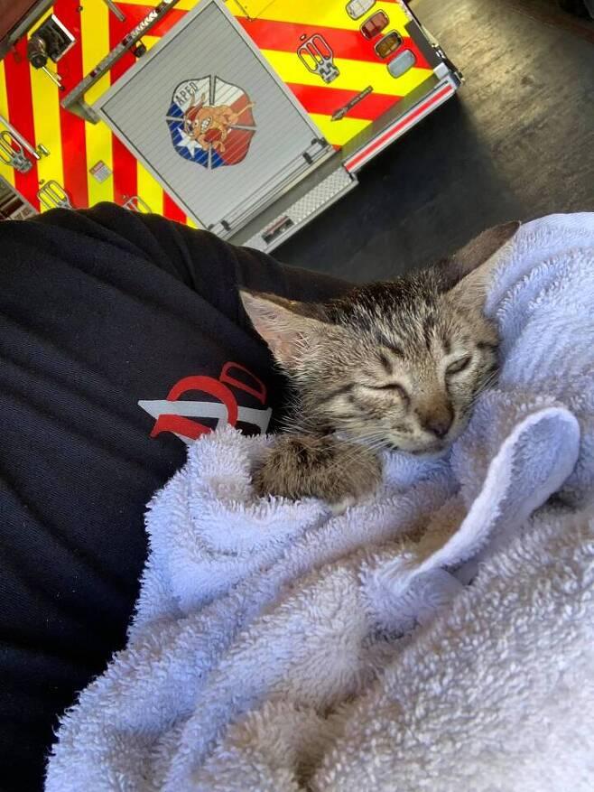 출처: FaceBook 'Aransas Pass Fire Department'