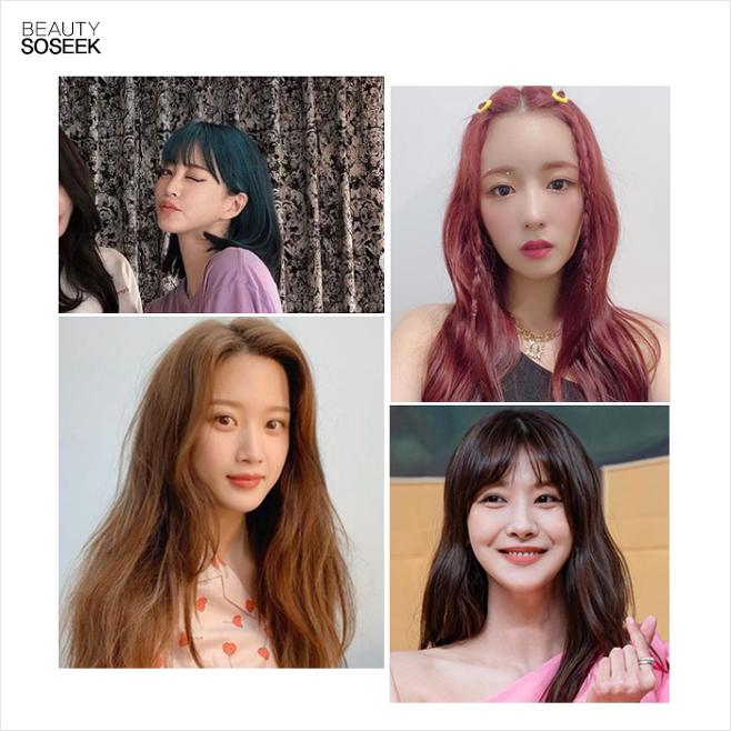 출처: 한예슬,에이핑크보미,문가영,유인영인스타그램