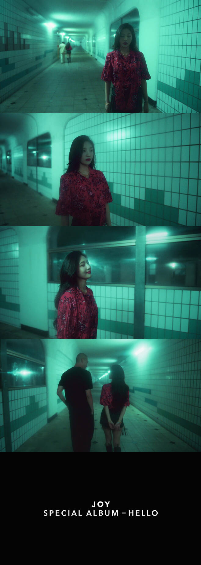 The prologue video, released on YouTube and Naver V LIVE Red Velvet channels on the 28th, features a faint and emotional atmosphere of Day By Day on this album.In addition, a second prologue video will be released to meet Every Time (Be There For You), which was reborn on the 29th with Joys sensibility, and it will add fun as it is also connected to the title song Hello music video.The album includes a total of six songs, including the title song Hello and the pre-release songs Je Taime, Day by Day, Im Going to Be Good (If Only), Happy Bus Day to You (Happy Birthday To You), and Everytime.Meanwhile, Joy Special album Hello will be released on various music sites at 6 pm on the 31st and will be released on June 3rd.Copyright c Korea www.news1