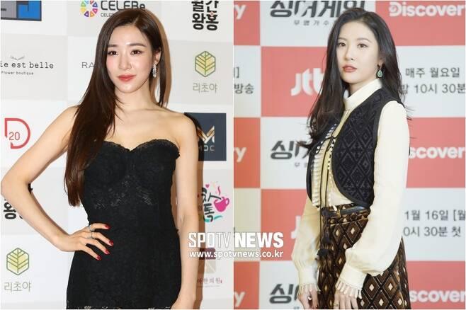 ▲ 티파니(왼쪽), 선미. ⓒ곽혜미 기자, JTBC 제공