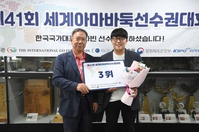 김다빈(오른쪽) [한국기원 제공]