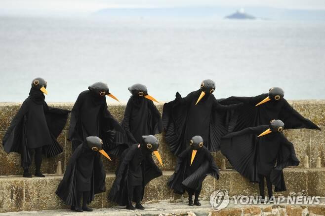 G7 정상회의 시위대 [AFP=연합뉴스 자료사진]
