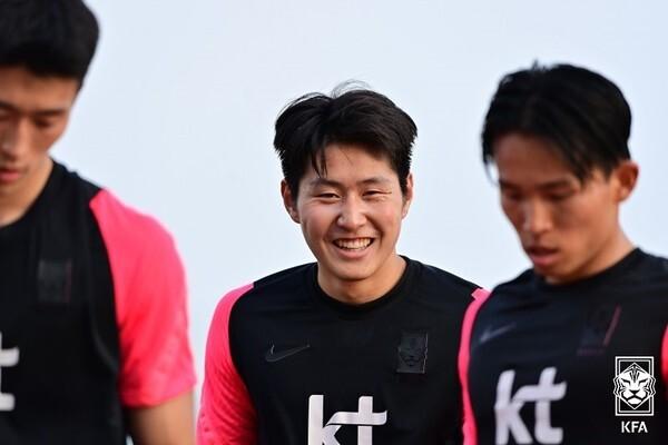 '김학범호'의 최종명단에 승선하게 된 이강인. 대한축구협회 제공