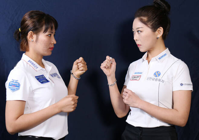 김가영과 스롱 피아비가 LPBA 개막전 결승에서 만난다.(LPBA제공)© 뉴스1