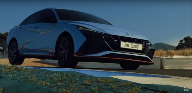 '현대N-올 뉴 엘란트라N 월드 프리미어(Hyundai N|The all-new ELANTRA N World Premiere)' 유튜브 영상/사진=유튜브 캡처