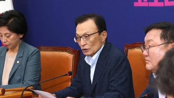 [사진 제공: 연합뉴스] 이해찬 전 대표
