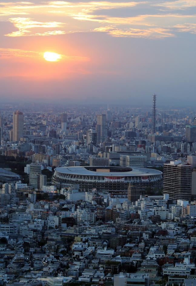 도쿄올림픽 메인스타디움 일본 국립경기장. 도쿄 | 연합뉴스