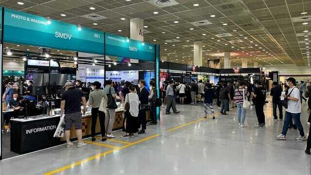 P&I 2021 행사가 진행중인 서울 코엑스 A홀 전경. (사진=지디넷코리아)
