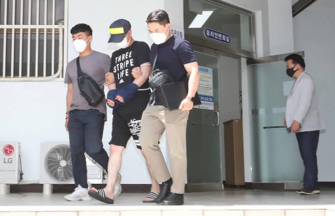 제주 중학생 살인사건 공범 김 씨 (연합뉴스)
