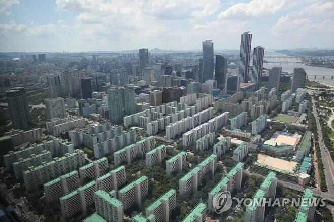 서울의 아파트 촌 [연합뉴스 자료사진]