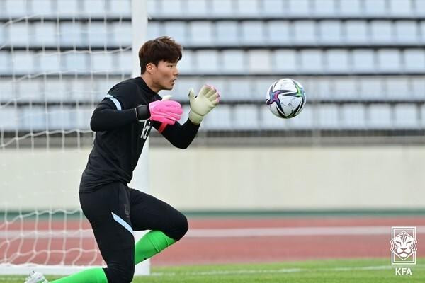 송범근(올림픽대표팀). 대한축구협회