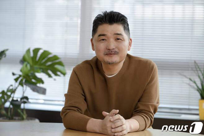 카카오 창업자 김범수 이사회 의장. © 뉴스1