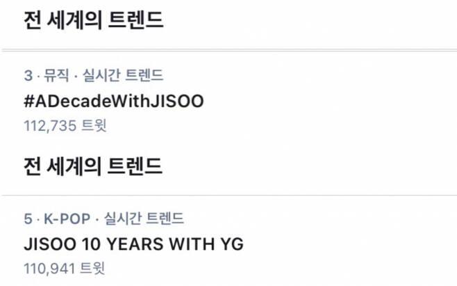 블랙핑크 지수 YG 입사 10주년..'YG 엄청 예쁜 연습생'→'배우 김지수'까지 #ADecadeWithJISOO