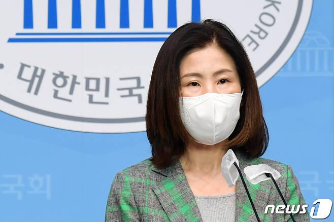 김미애 국민의힘 의원. 2021.6.8/뉴스1 © News1 오대일 기자