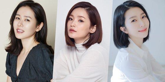손예진 전미도 김지현(왼쪽부터)