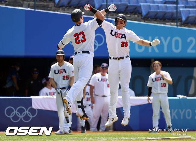 [사진] 미국 대표팀. ⓒGettyimages(무단전재 및 재배포 금지)
