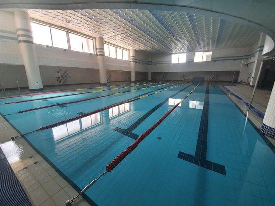 서울 마포구의 수영장. 기사와 직접 관련 없는 사진. 이가람 기자