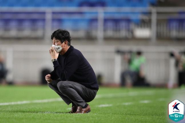 김병수 강원FC 감독.제공   프로축구연맹