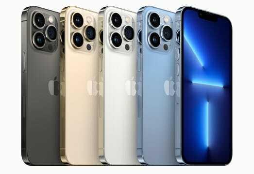 아이폰13 프로. 총 5가지 색상으로 출시된다. (사진=애플)