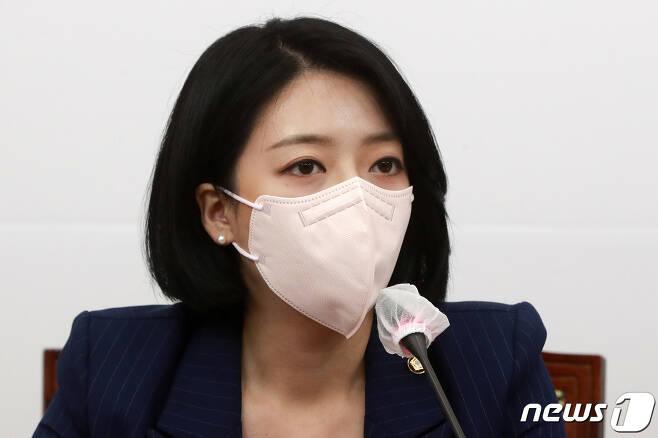 배현진 국민의힘 최고위원. 2021.9.2/뉴스1 © News1 구윤성 기자