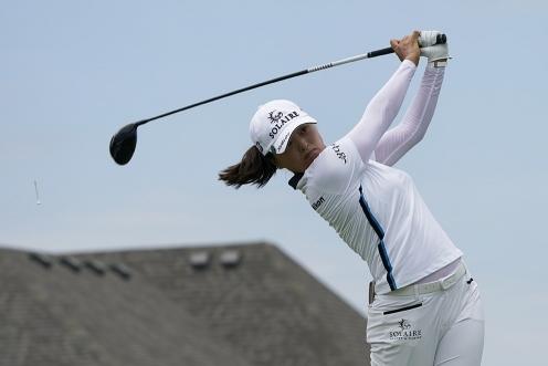 자신만의 골프 스윙으로 미국여자프로골프(LPGA) 투어에서 크게 활약하는 고진영 프로. 사진제공=Getty Image_LPGA