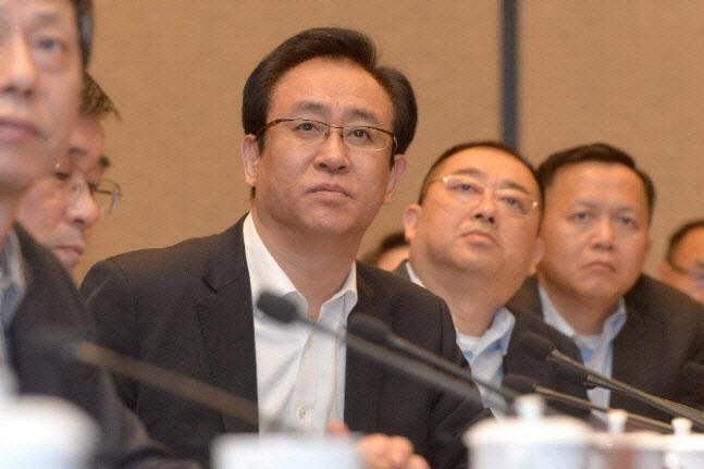 쉬자인 헝다그룹 회장. (사진=AFP 제공)