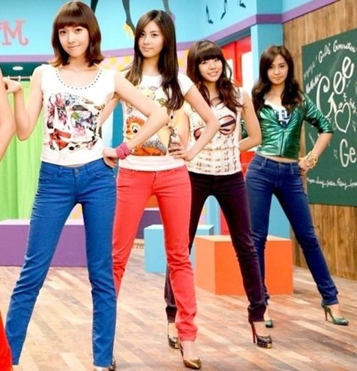 소녀시대 Gee 뮤직비디오 이미지