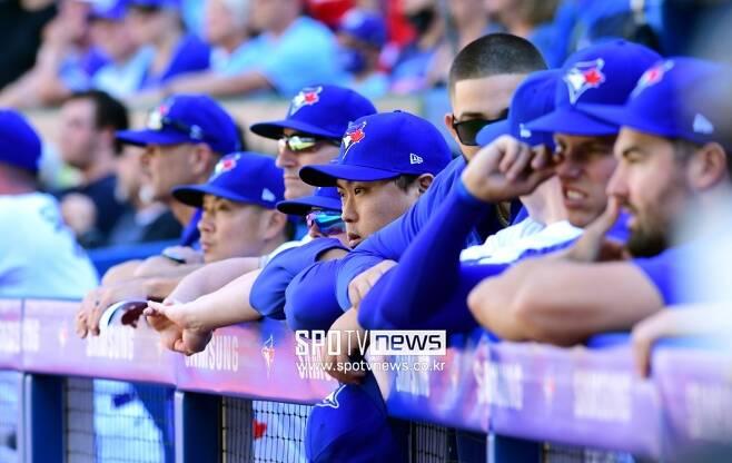 ▲ 토론토 블루제이스는 아메리칸리그 와일드카드 경쟁에서 살아남을 수 있을까. ⓒ 조미예 특파원
