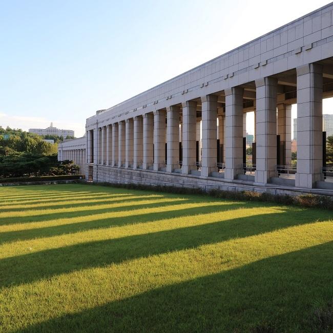 전쟁기념관 전경 / 사진제공 = 한울건축 이성관 대표