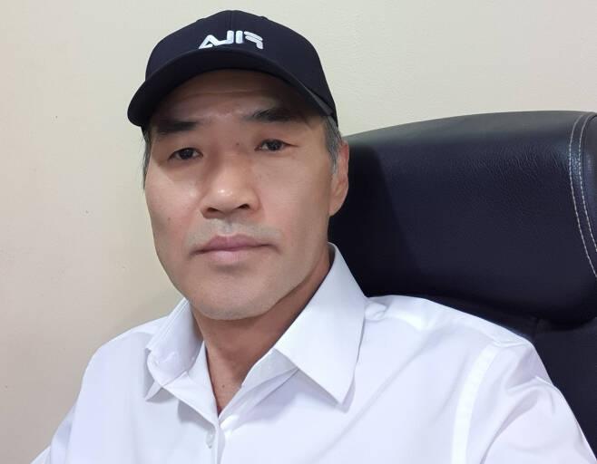 지난해 9월 22일 북한 서해상에서 피격된 해양수산부 소속 공무원 A씨의 형 이래진 씨. [이래진 씨 제공]
