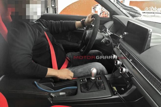 혼다 시빅 타입 R 시험주행차량 (사진제공 : S. Baldauf / SB-Medien)