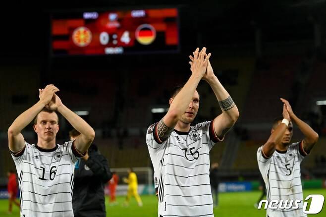 카타르 월드컵 본선 진출을 확정한 독일 © AFP=뉴스1