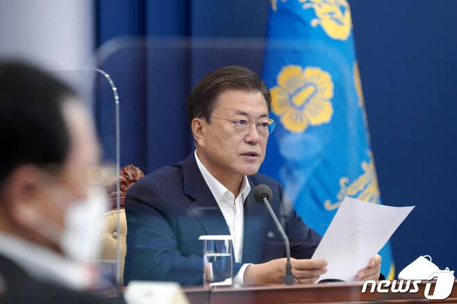 문재인 대통령. (청와대 제공) 2021.7.12/뉴스1
