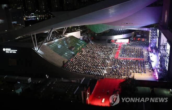 부산영화제 개막 [조정호 기자]